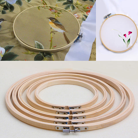 "Embroidery Round Bamboo Frame 5""-10"""