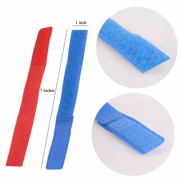 50pcs Magic Tape Nylon Cable Ties