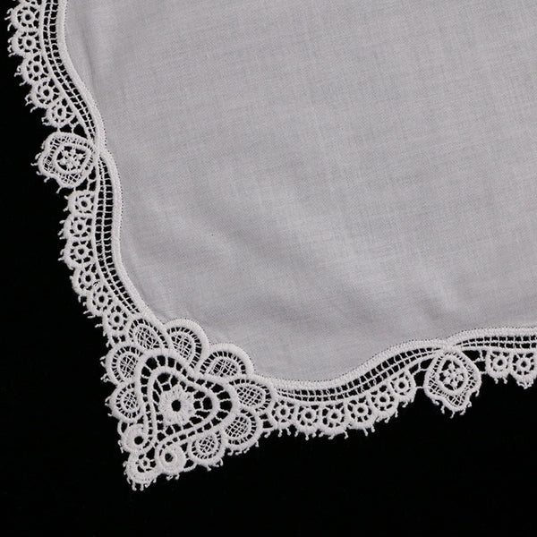 White Premium Cotton Lace