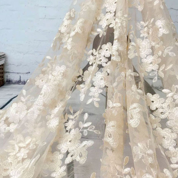 High Quality French Lace Fabric