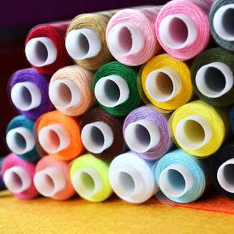 30 different colors Set of 100% Polyester Sewing Thread