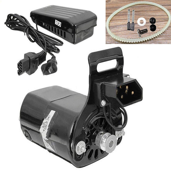 Black Domestic Household Sewing Machine Electric Motor 220V