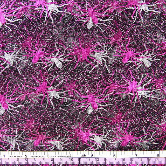 "1 pc Gauze Fabric (20"" x 57"") Halloween Spider"