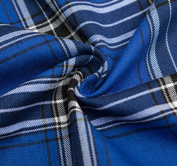 "Fabric Cotton Polyester (20"" x 55"") New Plaid Cotton"