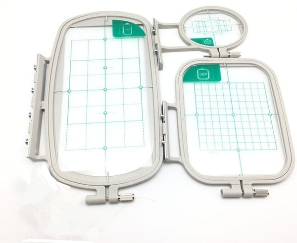 3 pcs Sewing Embroidery Machine Hoop Set Sewing Hoops