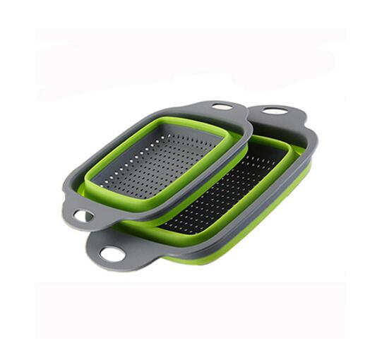 Foldable Strainer Basket Collapsible Colander Sets