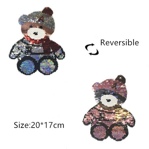 Reversible Color Sew  Patch