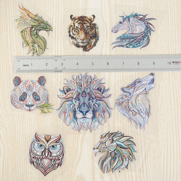 Cool 3D Animal Series Patches