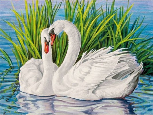 5D Diamond Painting Embroidery Swan Crystal
