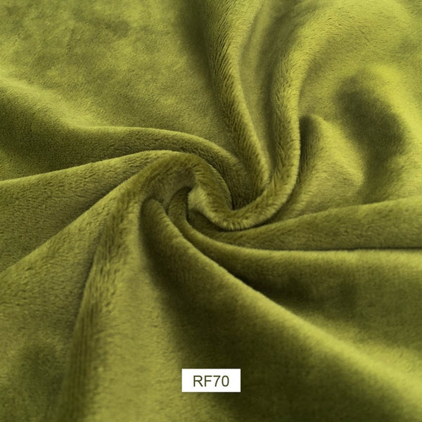 "1 piece Polyester Plush Fabric (18"" x 20"") 30 Colors"