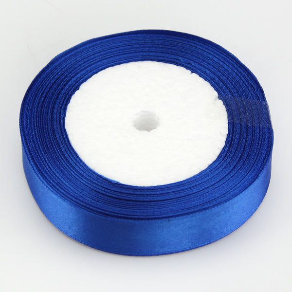 "18 Colors Pretty Silk Satin Ribbon (0.6"") 22 Meters"