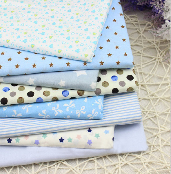 Twill 8 pcs Cartoon Cotton Fabric