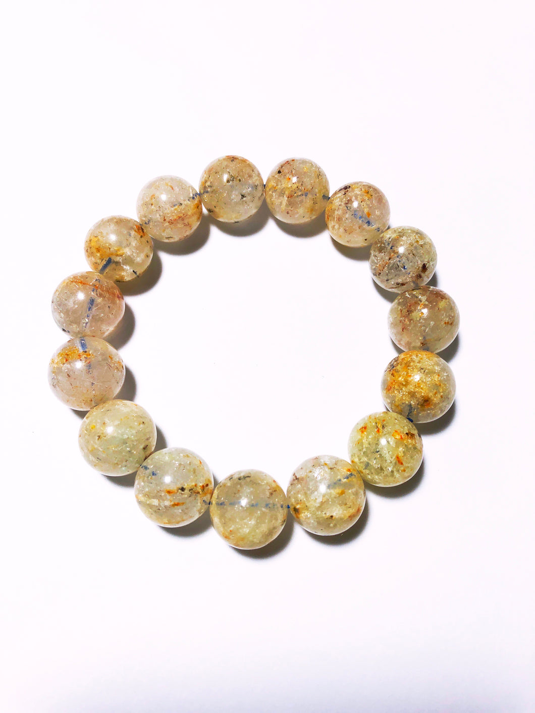 Bracelet with Rutilated Quartz