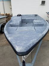 Griff Craft- 16' Flat Bottom Side Console