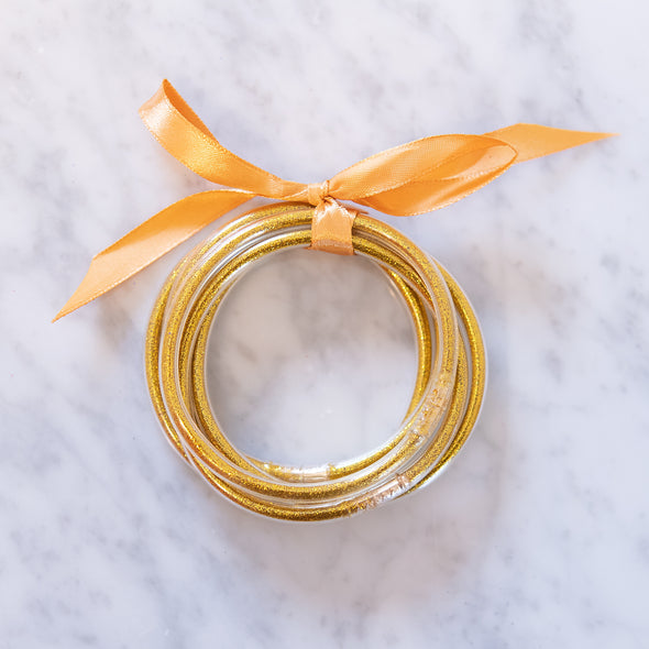 Yellow Gold Party Bangles