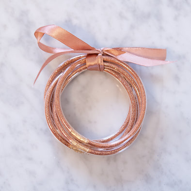 Rose Gold Party Bangles