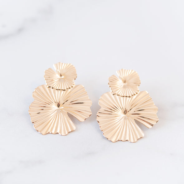 Classic Gold Art Deco Earrings
