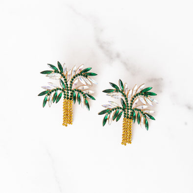 Palm Trees + Cool Breeze Earrings