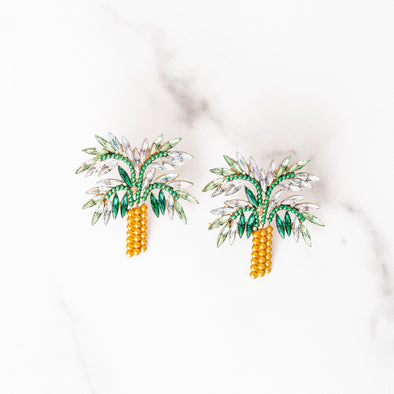 Palm Princess Earrings