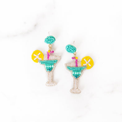 Beaded Margarita Earrings