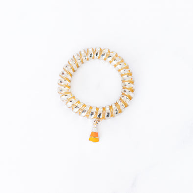 Gold Candy Corn Bracelet