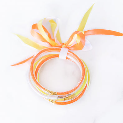 Candy Corn Party Bangle Set