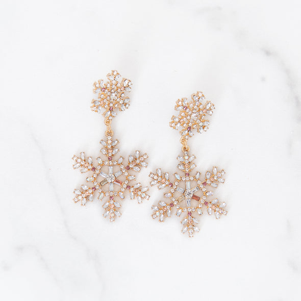 Dreaming Of A White Christmas Earrings