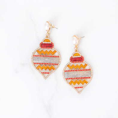 Deck the Halls Drop Earrings
