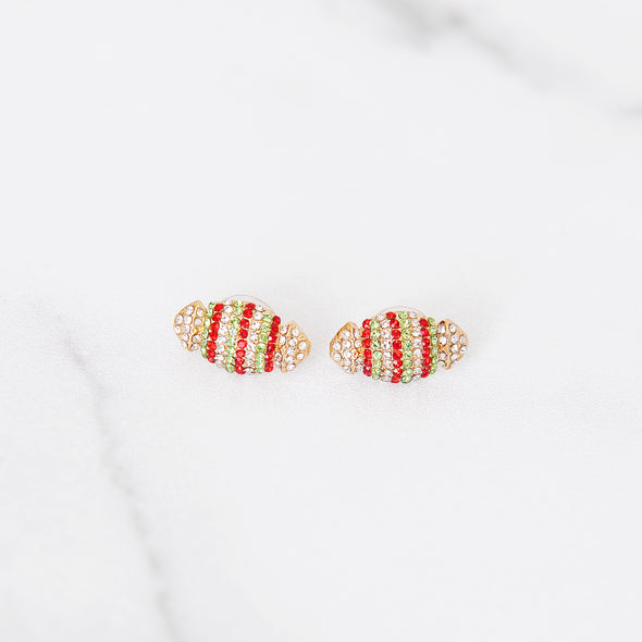 Holly Jolly Christmas Studs