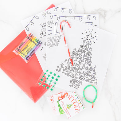Christmas Truth-Filled Activity Kit