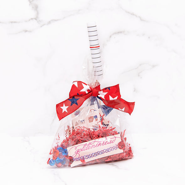 4th of July Patriotic Goodie Bag for Girls
