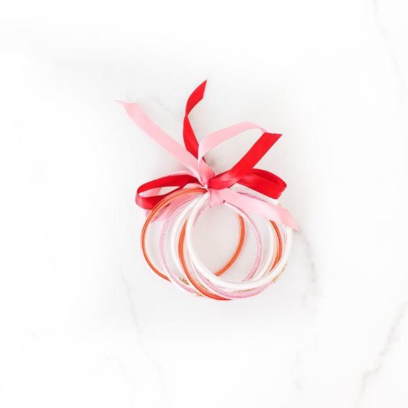 Valentine's Party Bangle Set