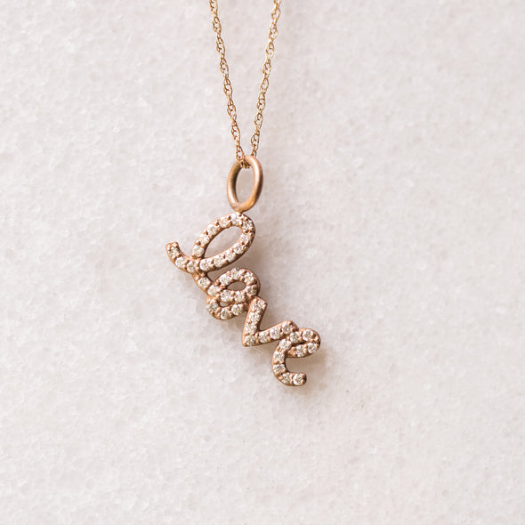 Diamond Love | 14-Karat