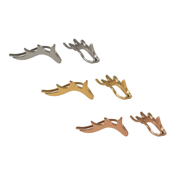 Antler Ear Crawlers | 14-Karat