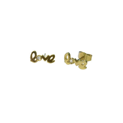 Mini Love Earrings