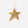 Antique Large Star with Fearless Calligraphy Necklace