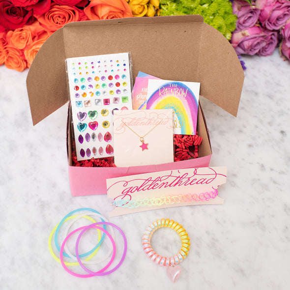 Christmas Surprise Box for Girls