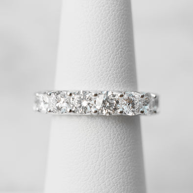 Diamond Eternity Band | 4 carats