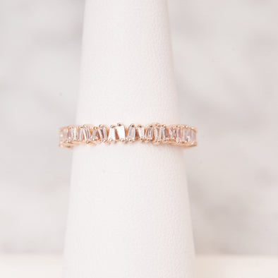 Diamond Baguette Band