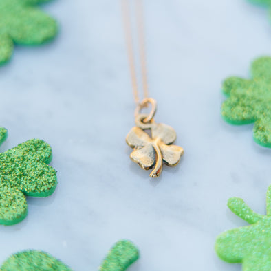 Antique Four Leaf Clover