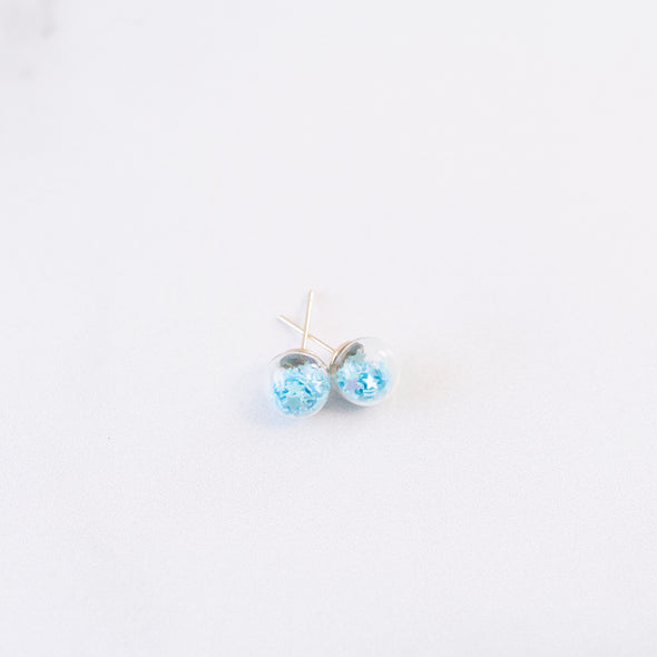 Light Blue | Mini Star Confetti Stud Earrings