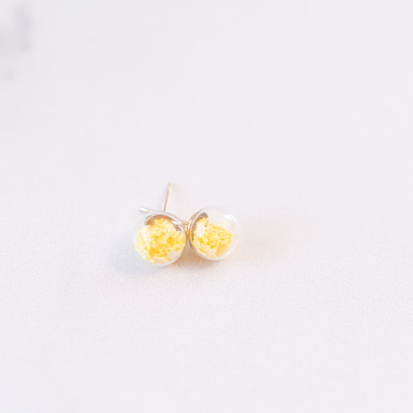 Yellow | Mini Star Confetti Stud Earrings