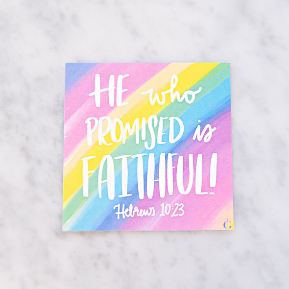Hebrews 10:23 Scripture Card
