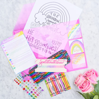 Rainbow Truth-Filled Activity Kits