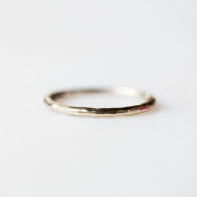 Hammered Ring | 14-Karat