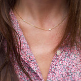 Diamond Station Necklace | Last Minute Gifts