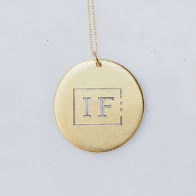 IF Necklace