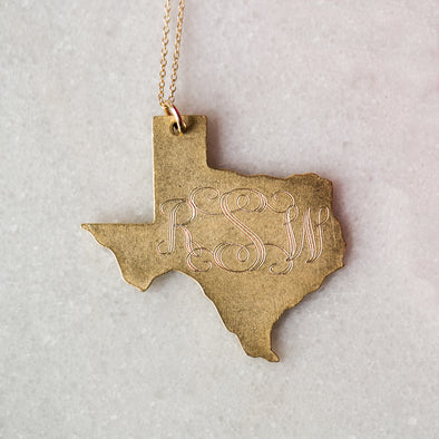 Antique Large Texas
