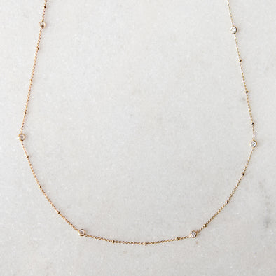 Long Embellished Necklace