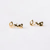 Mini Love Earrings | 14-Karat